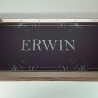 """Нарды """"Erwin"""" ваш именной подарок любимому мужчине на юбилей 35 лет."""