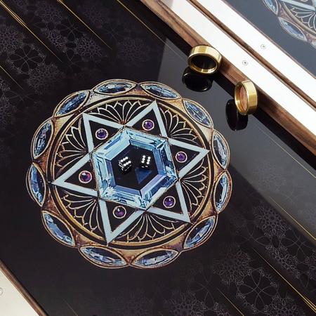 """Нарды """"Звезда Давида"""" подарок мужчине еврею на юбилей, день Рождения."""