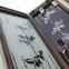 """Нарды из стекла """"САА"""" оригинальный подарок начальнику на годовщину."""