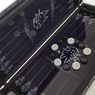 "Backgammon set tempered glass board with ""Initials"" - gift for men, husband, friend."