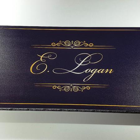 """Нарды """"E.Logan"""" красивый именной подарок парню на день рождения от девушки."""