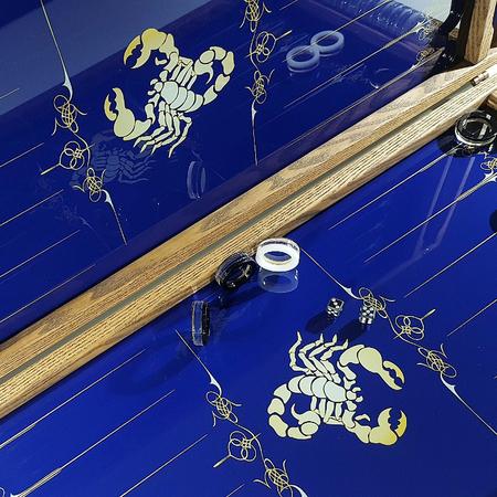 """Нарды """"Знак зодиак Скорпион"""" подарок верному товарищу мужчине в день его рождения."""