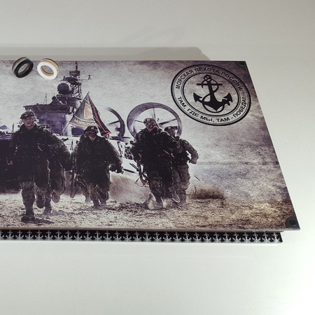 """Нарды """"Морская пехота РФ"""" стилизованный подарок военному мужчине морскому пехотинцу на день рождения."""