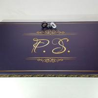 """Нарды """"P.S."""" из красивого глянцевого, каленого стекла. Подарок тестю на юбилей 40 лет."""