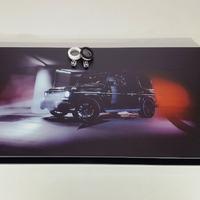 """Нарды """"Mercedes G63 AMG"""" стеклянные или просто черный кубик как подарок мужчине на Новый год 2018."""