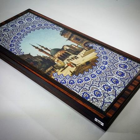 """Нарды """"Ташкент"""" купить в Москве с металлической монограммой как дорогой, эксклюзивный подарок  мужчине начальнику"""